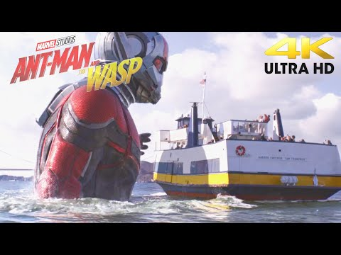 Giant-Man Scenes | Ant-Man And The Wasp | Ultra HD