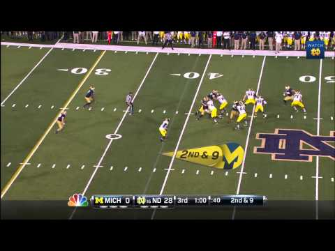 FB vs. Michigan Highlights