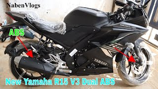 New Yamaha R15 V3 Dual Channel ABS 🏍️ First Impression 🔥 Full Details   Specification/Price BD!