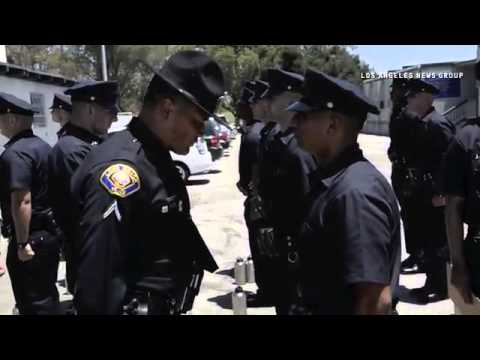 Video #2 Long Beach Police Department Class 87 of Long Beach Police Academy as they go through a ins