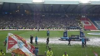 The Hearts song sang by Hector Nicol, me, and 25,000 Hearts fans.....19th May 2012