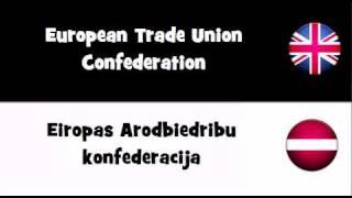 TRANSLATE IN 20 LANGUAGES = European Trade Union Confederation