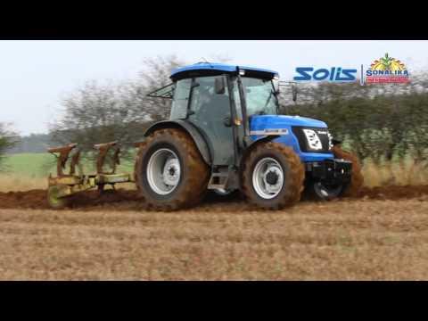Tracteur SOLIS 90cv CRDI ditribué par sarl COINAUD 87500 France