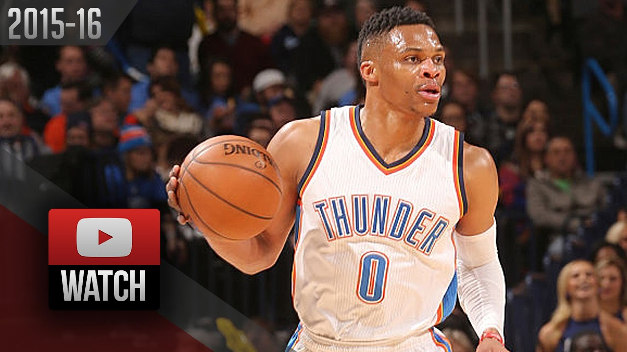Russell Westbrook Triple,Double Highlights vs Magic (2016.02.03) , 24 Pts,  19 Reb, 14 Ast