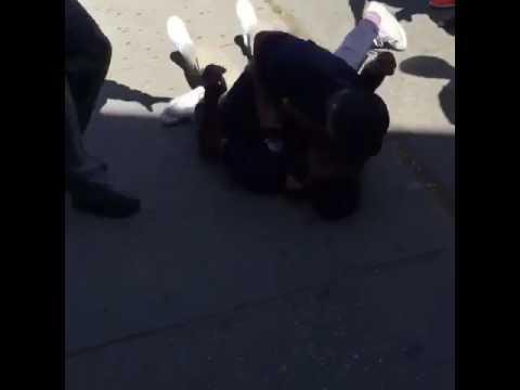 Fight At Millikan high School