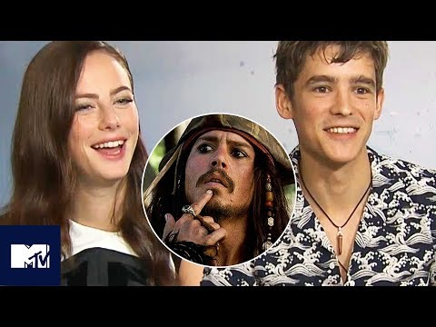 Pirates Of The Caribbean Cast Play Would You Rather?: SALAZAR'S Edition ⚓😂 | MTV