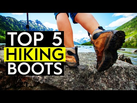 ✅ TOP 5: Best Hiking Boots 2019