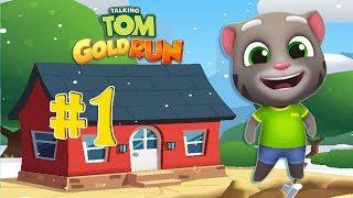 Веселый Говорящий Том Бег за золотом #1 Отбираем золото Тома у воришки screenshot 5