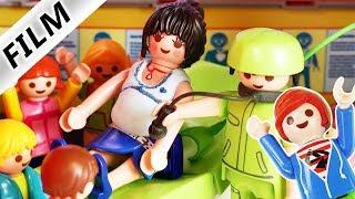 Playmobil Film deutsch FRAU CHILLIG IM KRANKENHAUS Klassenausflug zum Arzt Kinderserie Familie Vogel