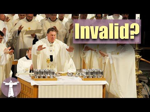Is the Novus Ordo Even VALID?