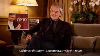 Andrea Bocelli - DAMMI I COLORI! ...RECONDITA ARMONIA - Tosca (Commentary)