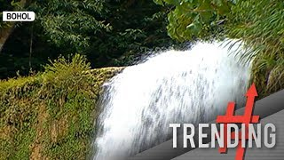Can-umantad falls sa Bohol