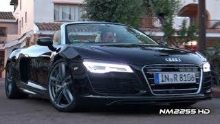 2013 Audi R8 V10 Spyder Exhaust Sound
