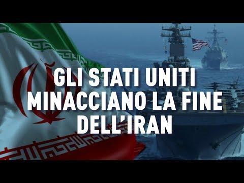 PTV News - 20.05.19 - Gli Stati Uniti minacciano la fine dell'Iran
