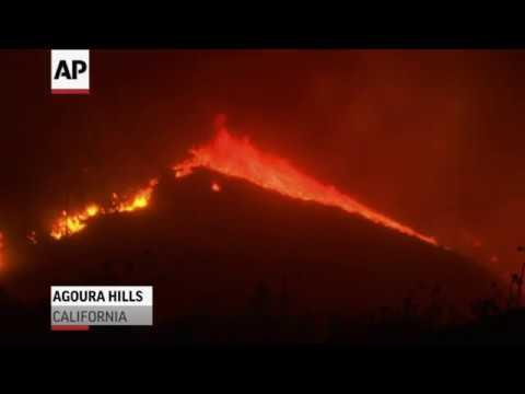 Agoura Hills Among 6 Major California Fires Youtube