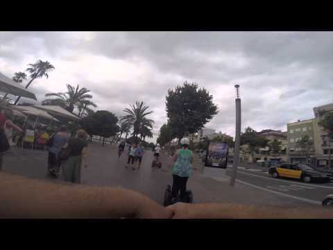 Barcelona Segway Part 4 (Waterfront)