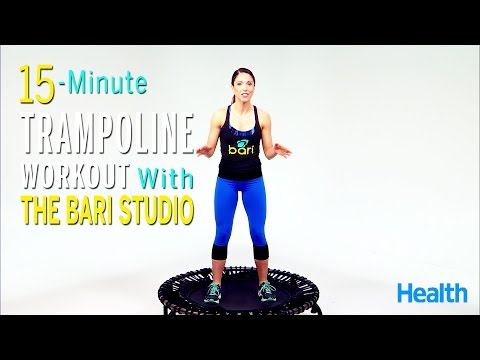 15-Minute Trampoline Workout | Follow-Along Fitness | Health