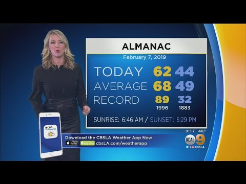 Evelyn Taft's Weather Forecast (Feb. 7) – Los Angeles Alerts