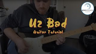 Edosounds - U2 Bad guitar cover (and tutorial)