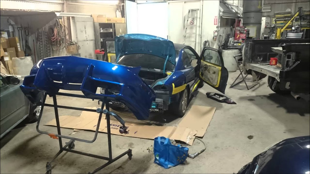 medium resolution of 1999 sunfire side skirts and rear bumper vid 2