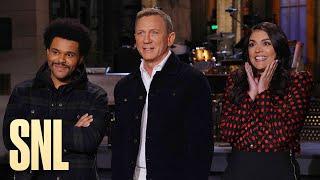 Daniel Craig Is Ready to Host SNL the Bond Way