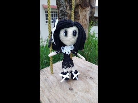 Haz tu propia muñeca vudú ( muñeca gótica)