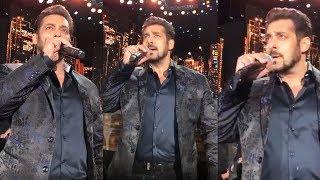 Salman Khan Performance At IIFA Awards 2017 - Sings Main Hoon Hero Tera