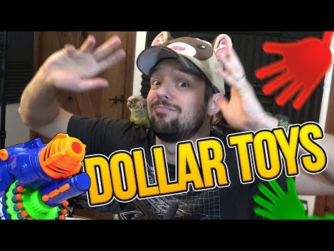 DOLLAR TOY HAUL | Weasel Reviews: One Dollar Toys