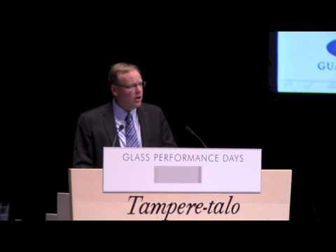 Glass Performance Days 2013: Scott Thomsen Keynote Presentation - Glass Innovation