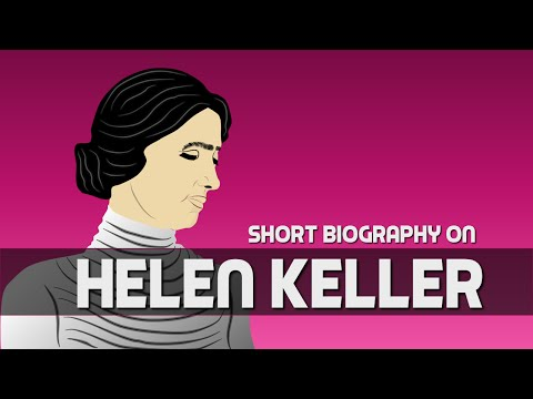 Helen Keller (Biography for Children) Educational Cartoon Network (Youtube for Kids)