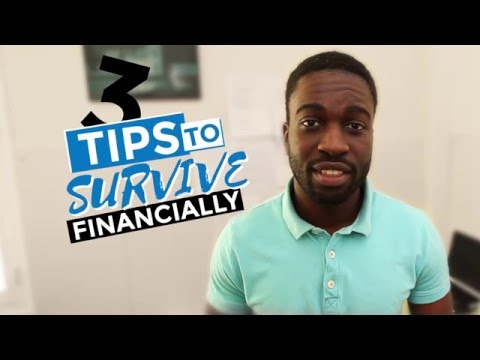 Survival tips for international students:  surviving financially