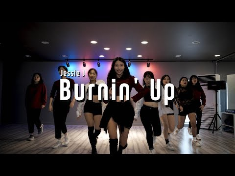 Jessie J - Burnin' Up l Girls Hiphop Class (Bom)