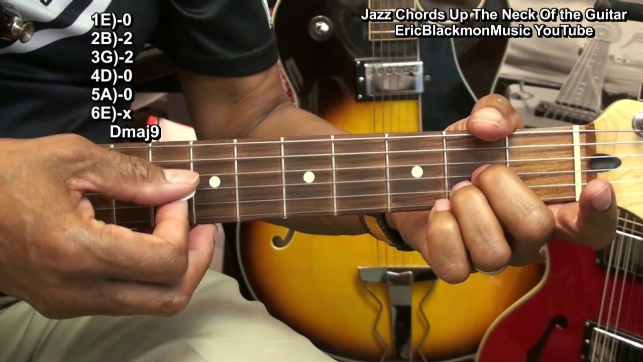 How To Play 60 Steely Dan Style Jazz Chords Up Down The Guitar