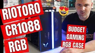 Riotoro CR1088 RGB Full ATX PC Case Teardown & RGB Test