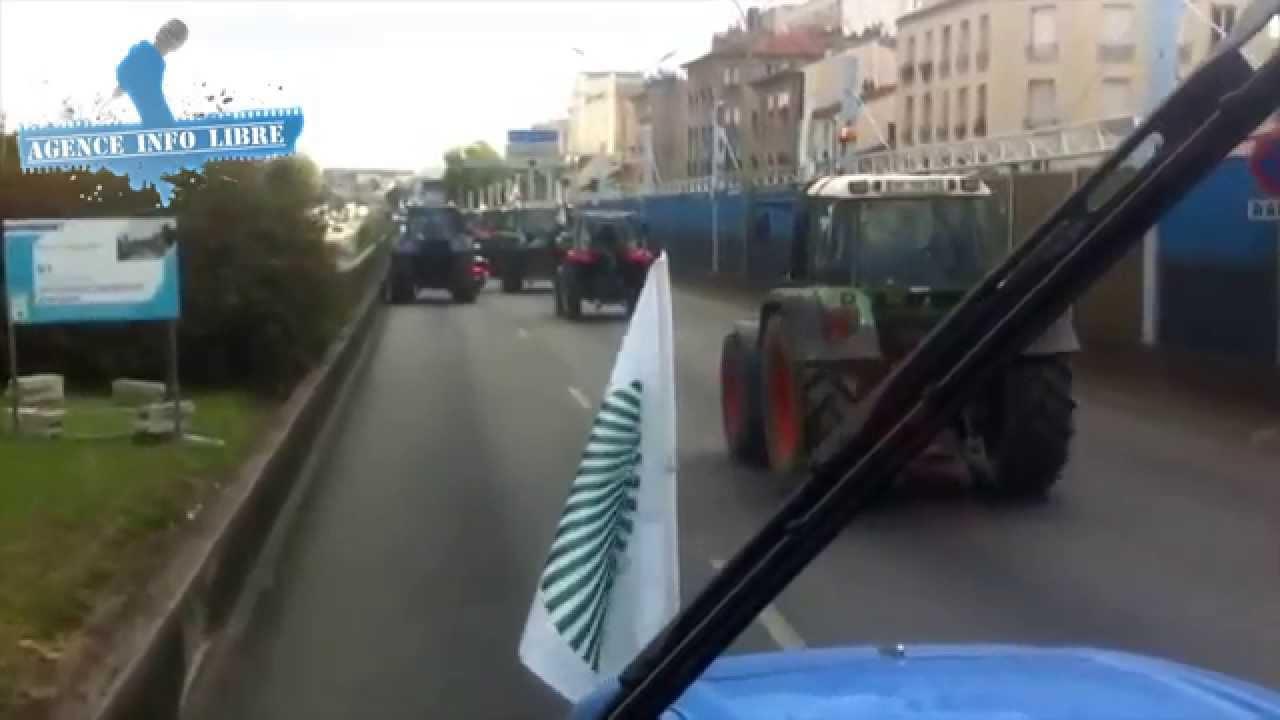 Paris manifestation des agriculteurs p riph rique for Peripherique exterieur paris