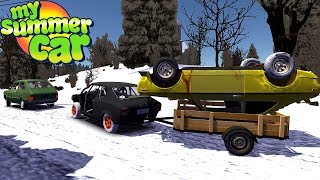 TRAILER for VEHICLES - REMADE - My Summer Car #146 (Mod)