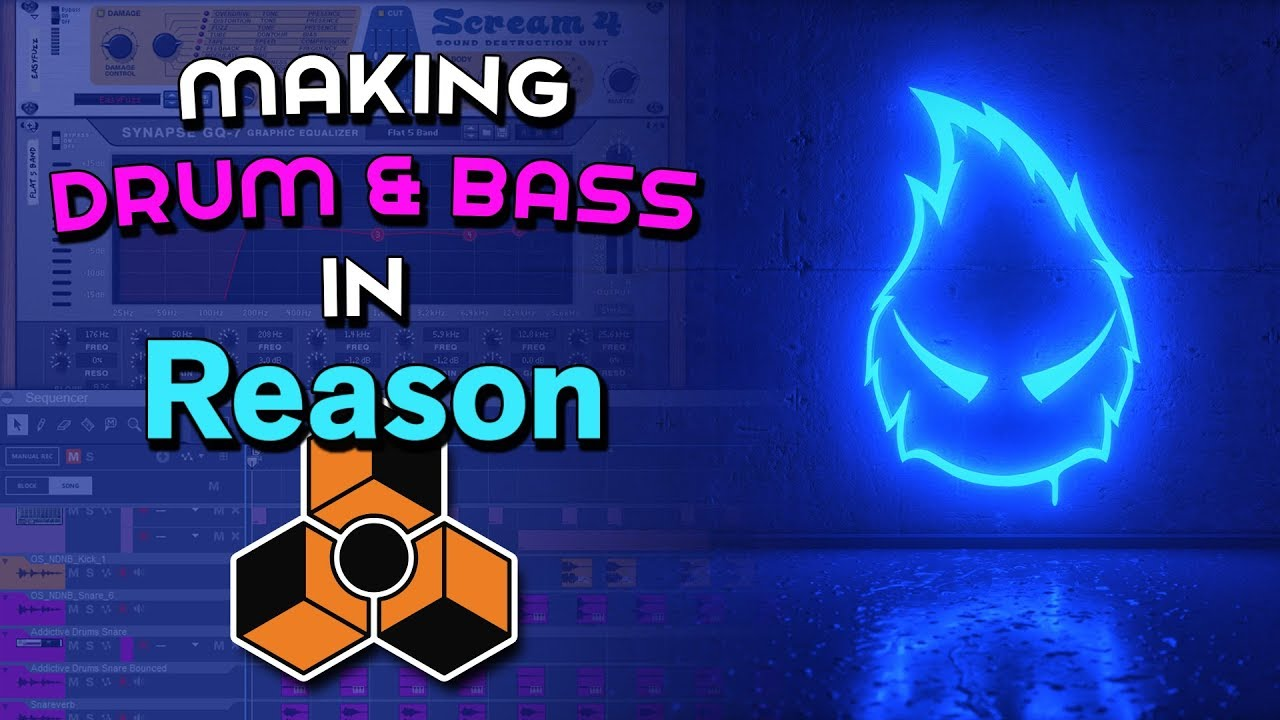 How to Make a Drum n Bass Track in Reason   Propellerhead