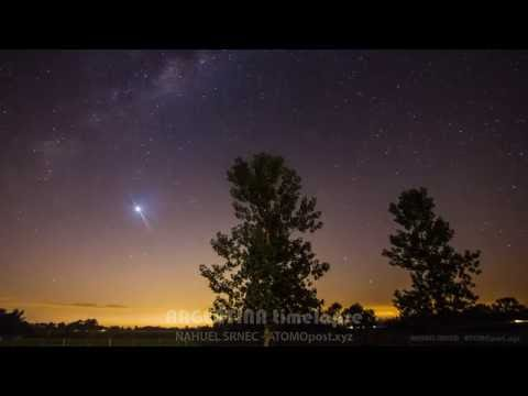 Argentina timelapse astronómico