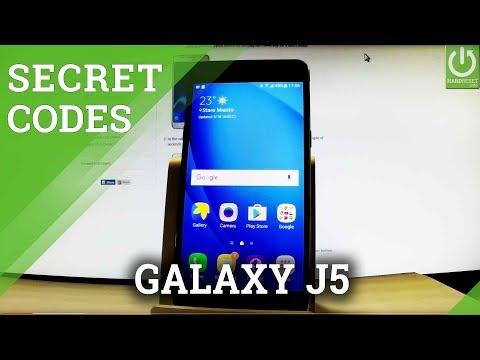 SAMSUNG Galaxy J5 (2016) CODES / Tricks / Advanced Options