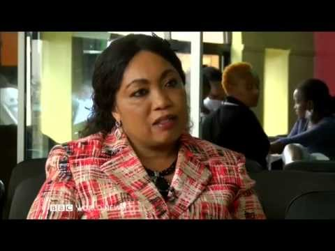 Interview of the Ashleys Beauty Centre Mrs.Terry Mungai on BBC World News