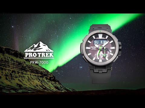 CASIO PRO TREK PRW-7000 Promotion Video