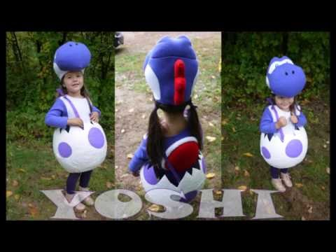 Yoshi Halloween Costume Diy.Diy Yoshi Costume Youtube