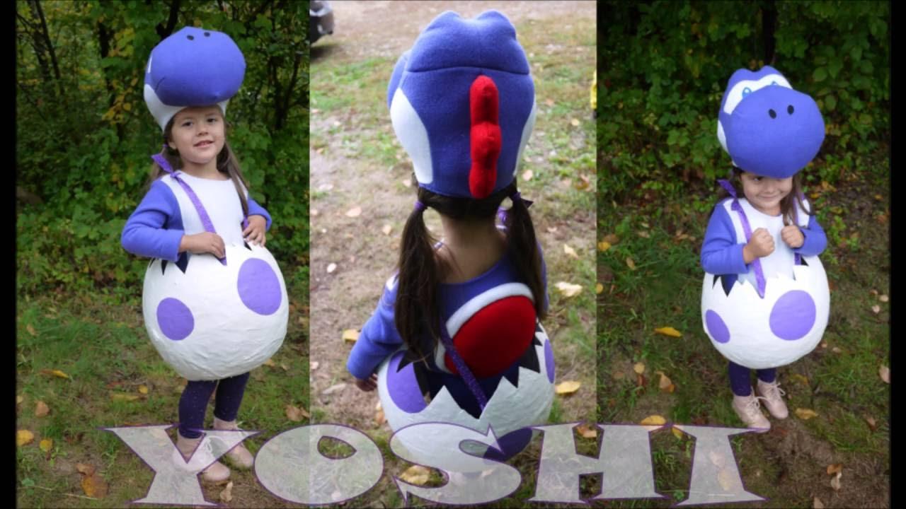Diy Yoshi Costume Youtube