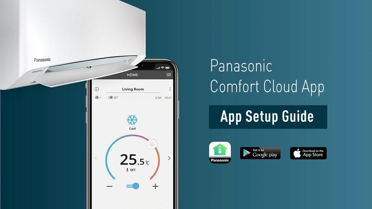 Panasonic Comfort Cloud App Setup Guide*