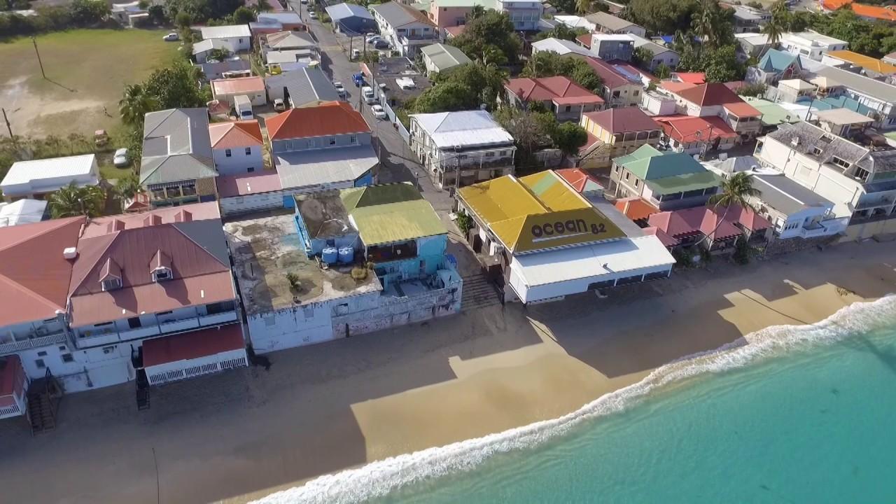 Grand Case Beach Saint Martin 2017