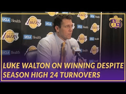 Lakers Post Game: Luke on How the Team Won Despite a Season High 24 Turnovers
