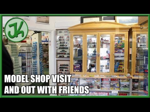 Model Shop Visit And Out With Friends - JennyCam 18
