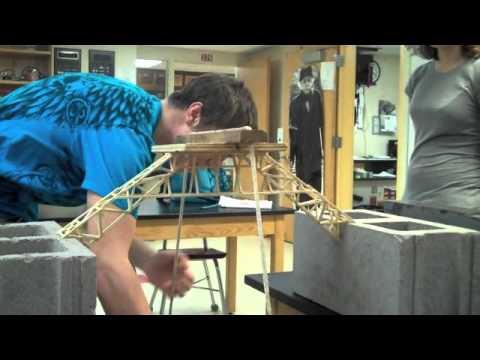 Toothpick Bridge 2011 Youtube