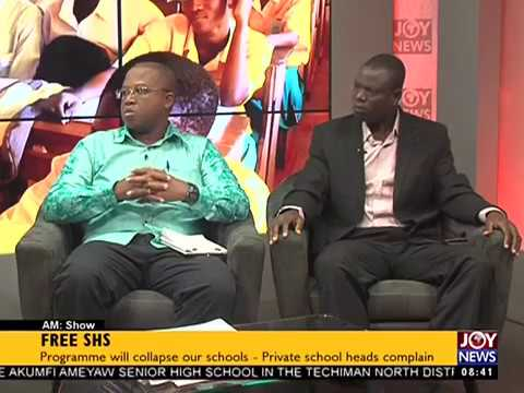Free SHS Implementation - AM Show on JoyNews (14-9-17)
