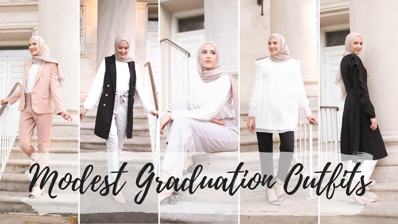 b8360e4dcb6 5 Modest Graduation Outfit Ideas! - YouTube
